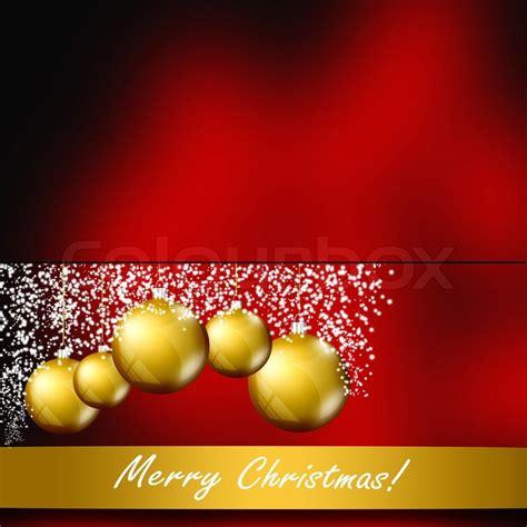 elegant christmas background template stock photo