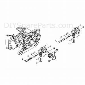 Stihl Ms 660 Chainsaw  Ms660 Magnum Br  Parts Diagram  Oil