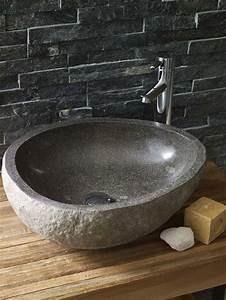 Waschbecken Für Draußen : die 25 besten ideen zu naturstein waschbecken auf ~ Michelbontemps.com Haus und Dekorationen