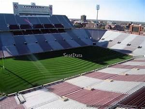 Memorial Stadium Ou Seating Chart Oklahoma Memorial Stadium Section 135 Rateyourseats Com