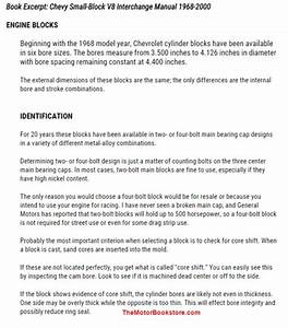 Chevy Small Block V8 Interchange Manual 2nd Edition