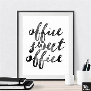 office sweet office printable office wall art by realgoodwords With office wall art