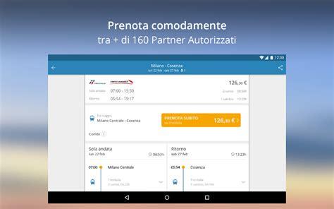 Trenitalia Mobile Orari E Prezzi by Goeuro Treni Pullman E Voli App Android Su Play