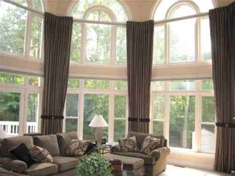 Large Window Treatment Ideas