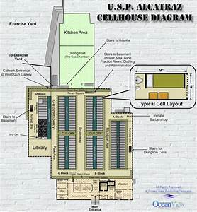 U S P Alcatraz Cellhouse Diagram