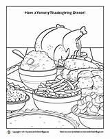 Coloring Dinner Thanksgiving Plate Worksheet Getdrawings Getcolorings sketch template