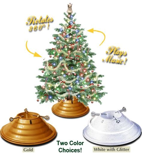 best 20 rotating christmas tree stand ideas on pinterest