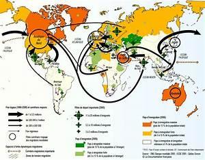 World Map 2005 - Global Migration / Immigration ...