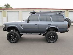 Toyota Land Cruiser Suv 1988 Charcoal Grey For Sale