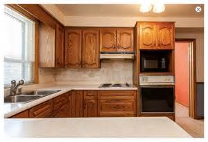 kitchens with open shelving ideas 80 39 s oak kitchen needs term paint facelift makeover