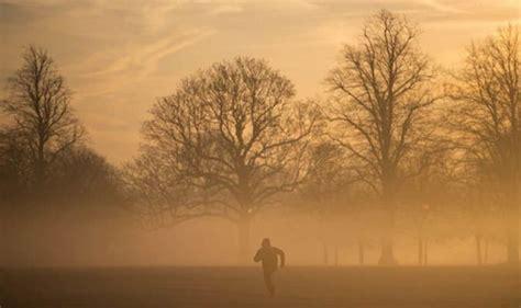 sahara dust  london covered  blanket  sahara fog