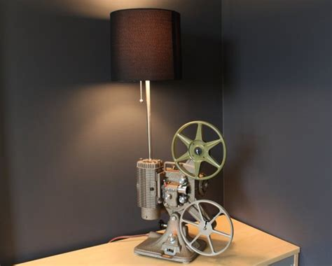 Home Decor 8mm : Home Theater Decor Movie Projector Table Lamp
