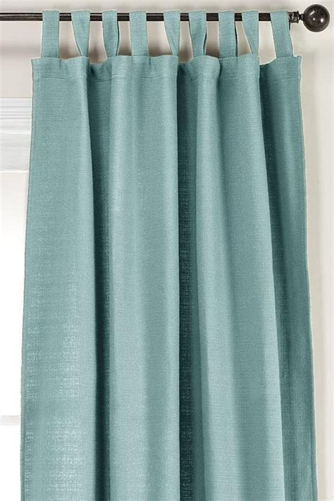 teal curtains against beige walls homedecorators