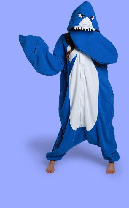 Adult Shark Onesie Costume