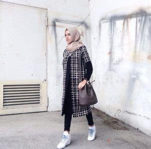 referensi fashion wanita pendek berjilbab bisa