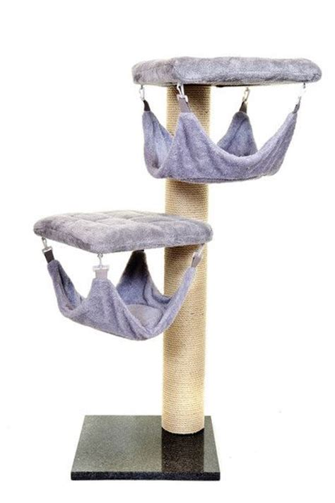 cat tower with hammock cat hammock cat scratching and towers on