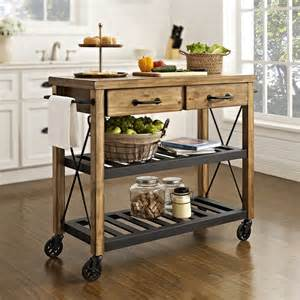 kitchen islands on roots rack rustic kitchen cart