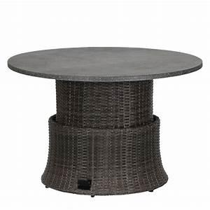 Polyrattan Tisch Höhenverstellbar : h henverstellbarer tisch preisvergleich die besten angebote online kaufen ~ Eleganceandgraceweddings.com Haus und Dekorationen
