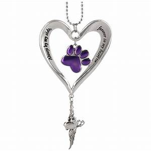 Charmes Automobile : heart purple paw car charm the animal rescue site ~ Gottalentnigeria.com Avis de Voitures