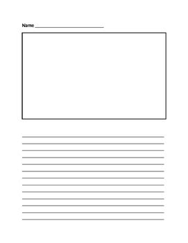 Soapstone Writing Template by Blank Paragraph Writing Paper By Danielle Winker Tpt