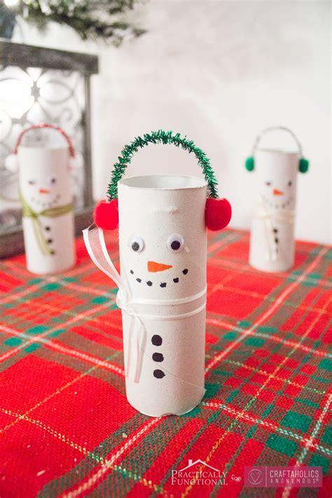 craftaholics anonymous diy toilet paper roll snowmen