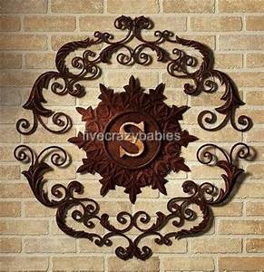17 best images about wall art on pinterest antique gold With wrought iron outdoor monogram letters