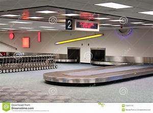 International Airport Baggage Claim Carousel Royalty Free ...
