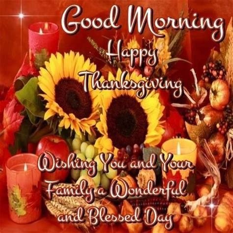 wishes   good morning  happy thanksgiving pictures   images  facebook