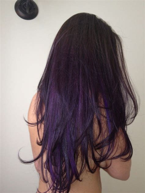 Dark Brown Ombre Hair Tumblr Hd Purple Ombre Hair Hair