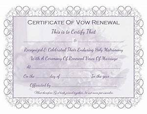 Marriage vow renewal certificate free printable all for Free printable wedding vow renewal invitations
