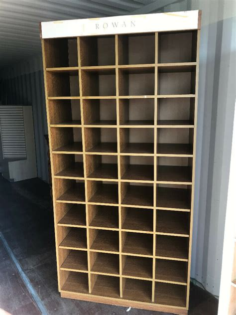 compartment pigeon hole storage unit ideal   garage