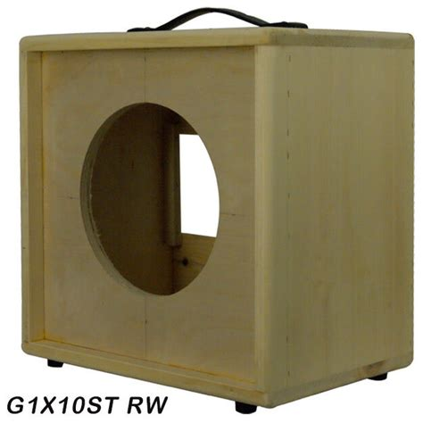 1x10 Guitar Cabinet by 1x10 Solid Pine Wood Extension Guitar Speaker Empty
