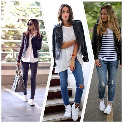 23 looks inspiradores con zapatillas blancas u00bfte apuntas? | Zapatillas blancas Zapatillas y Hechos