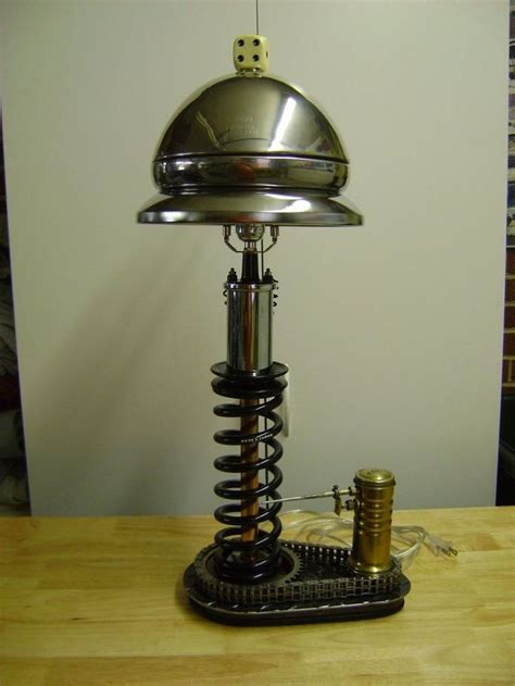 automotive inspired table lamp  lamp    parts decoration lamp