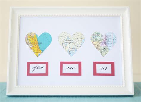Valentine's Diy Map Hearts And My Irish Ancestry