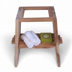 Teak Holz Waschtisch Untergestell ZEN 57x295x71cm Bei