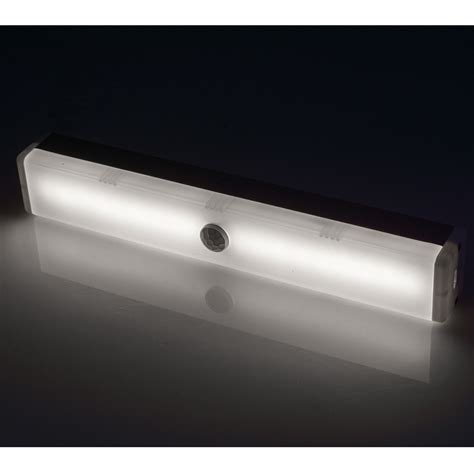 kitchen closet cabinet stick on 18 led motion sensor