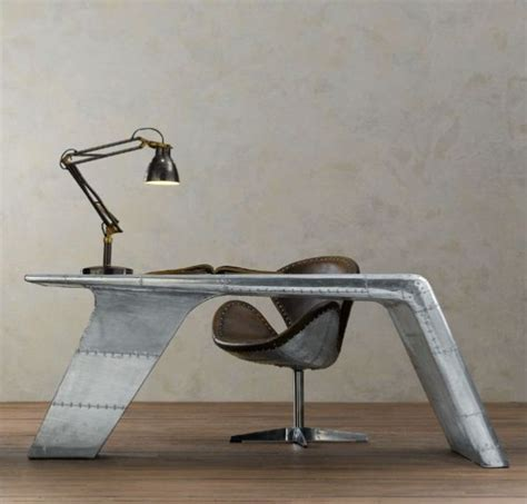 aviator wing desk furniture aviator wing desk inspired by wwii fighter planes