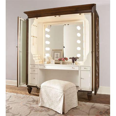 jessica mcclintock dressing armoire  stool american drew