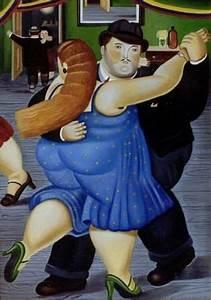 Fernando Botero - Dancing Couple, 1987. | Swirls of Color ...