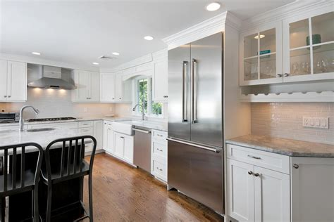 Design Kitchens by Custom Built Shaker Cabinets Sea Girt New Jersey By Design