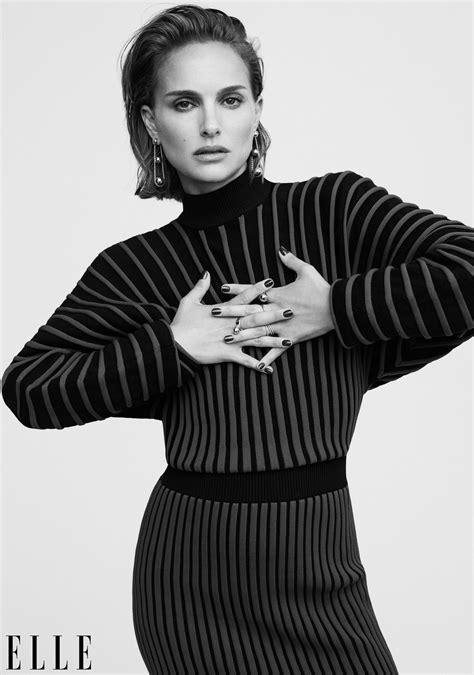 Natalie Portman Elle Magazine Women Hollywood