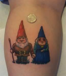 Adorable Gnome Tattoo