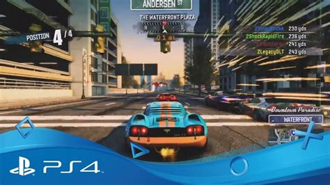 burnout paradise ps4 burnout paradise remastered the race is on trailer ps4