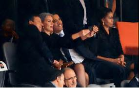 Obama   s Mandela Fune...