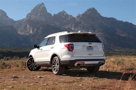 2016 Explorer Review by 2016 Ford Explorer Platinum Review Autoguide News