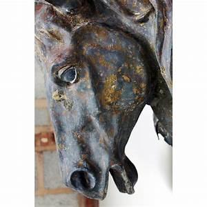 Arabesque Antiques :: 19th Century Horses Head