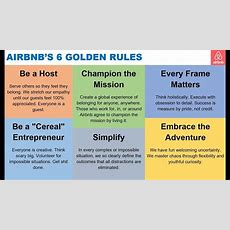 Airbnb 6 Golden Rules Via Brian Chesky Youtube