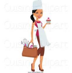 Black Female Chef Clip Art