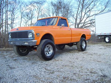 ** Sharp*** 72' Chevy 4x4 2500 Pickup For Sale In Glasgow